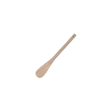 """Vogue J112 18""""/457mm Wooden Spatulas Round End Utensils"""