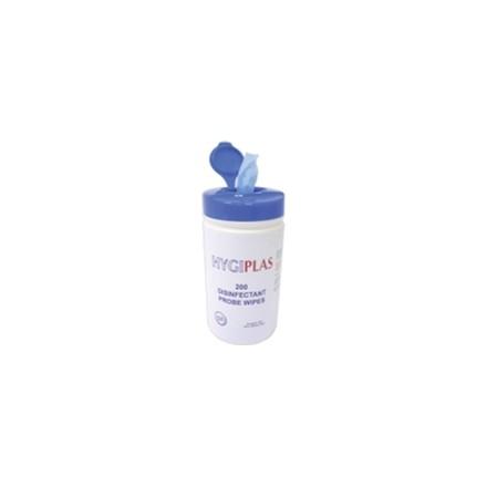 6x Hygiplas J236 200 Wipe Tub Probe and Surface Wipes Utensils