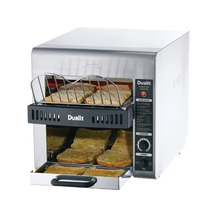 Dualit J416 Conveyor Turbo Toaster. Double feed. 360 slices/hr output