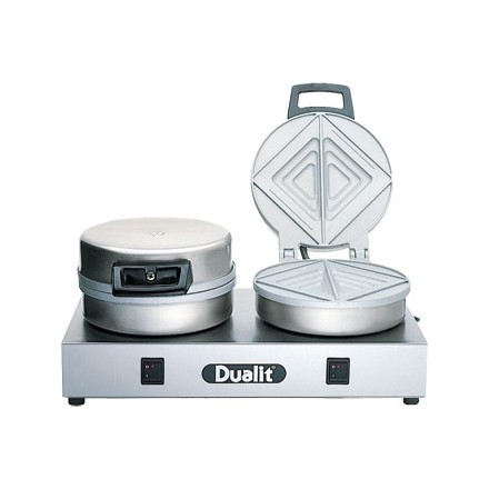 Dualit J476 Contact Toaster Double plates 80 slices/hr output