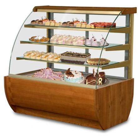 IGLOO Jamaica JA130WW Wood Refrigerated Pastry Case