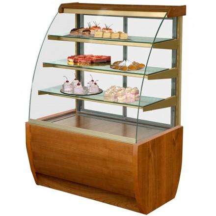 IGLOO Jamaica JA90WW Wood Refrigerated Pastry Case