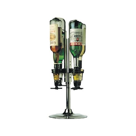 Beaumont Rotary 4 Bottle Stand 1 Litre Bottle