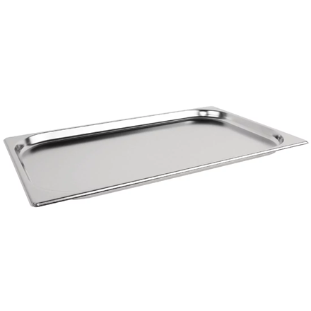 VOGUE K998 STAINLESS STEEL 1/1 GASTRONORM PAN 20MM