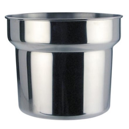 Genware B10288 Pot, Stainless Steel, Bain Marie 4.2 L