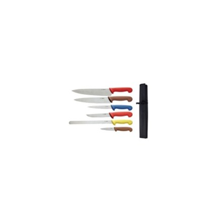 Hygiplas S088 Colour Coded Knife Set & Wallet