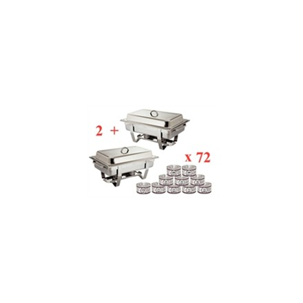 S601 Sale Offer : Milan Chafer (Pack 2) S300 with 72