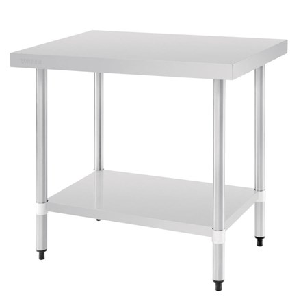 Vogue T375 Stainless Steel Prep Table 900mm