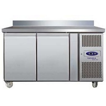 Tefcold CK7210 Gastronorm Refrigerated Counter Suitable for Fresh Meat Stainless