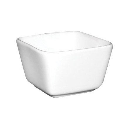 12x Olympia U178 75x75x48mm Tall Square Mini Crockery