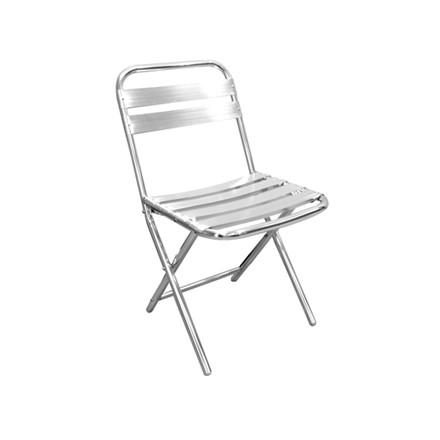 4x Bolera Folding Aluminium Chairs