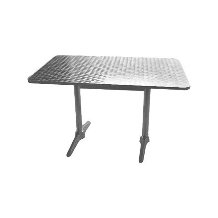 Bolera U432 Double Pedestal Stainless Steel Table 1200mm