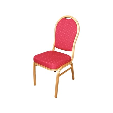 4x Bolera U525 Red Arched Back Banqueting Chairs Furniture