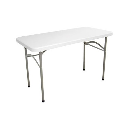 Bolera Foldawy Rectangular Utility Table 4ft