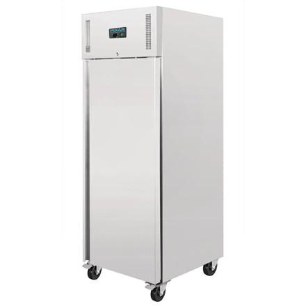 Polar U633 Heavy Duty Single Door Freezer Stainless Steel 650Ltr