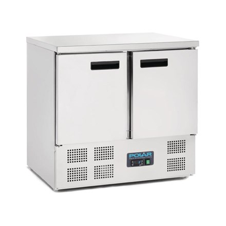 Polar U636 2 Door Compact Counter Fridge 240Ltr