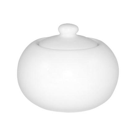 12x Olympia U818 9.5oz Sugar Bowls & Lids