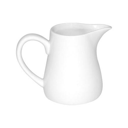 6x Olympia U821 11oz Cream/Milk Jugs with Handles