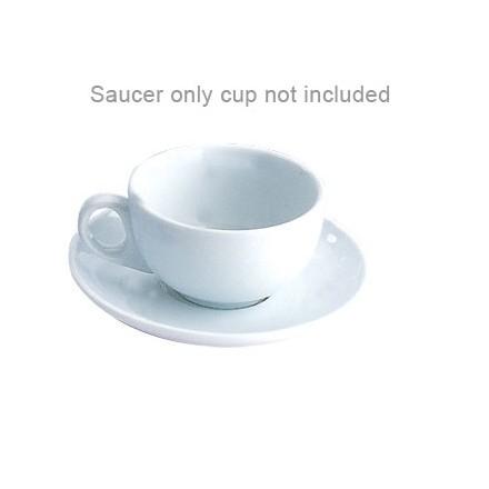 12x Olympia U828 15oz Saucer Cappuccino Cups & Saucers