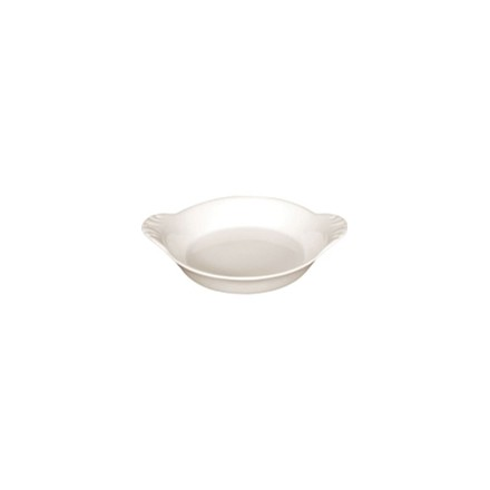 6x Olympia U836 Round 180mm Oval Eared Dishes Crockery