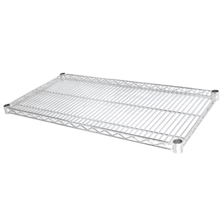 Vogue U890 Wire Shelves 457x1220mm incl 8 pairs of clips (Pack 2)