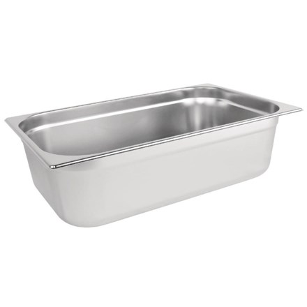 VOGUE K924 STAINLESS STEEL 1/1 GASTRONORM PAN 150MM