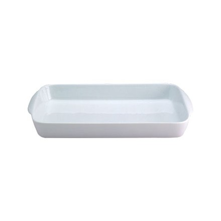 6x Olympia W425 185 x 96 x 37 (H) mm Oblong Hors D'oeuvre Dishes
