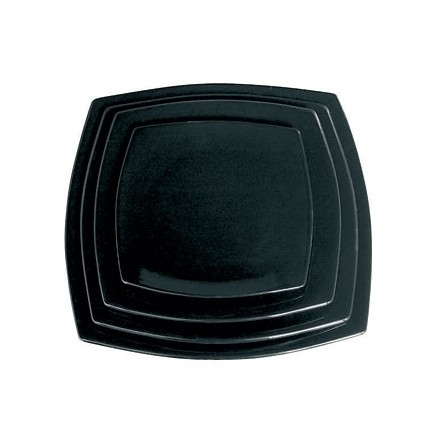 "6x Olympia Y074 12""/305mm Rounded Square Plates Crockery"