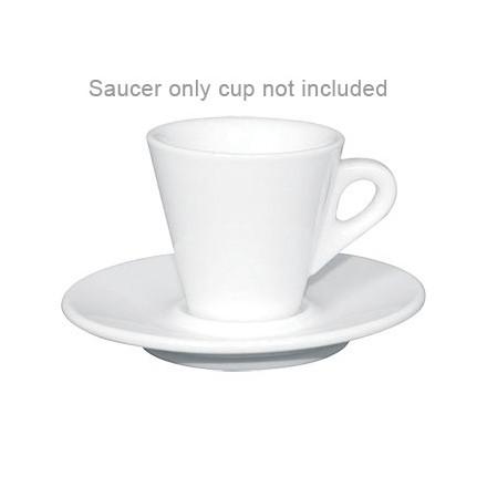 12x Olympia Y112 2oz Saucer Espresso Cups & Saucers