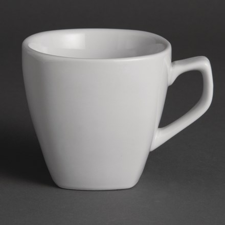 Olympia Y115 Rounded Square Cups 200ml