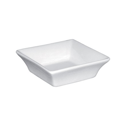"12x Olympia Y136 3"" x 3""/75x75mm Square Crockery"