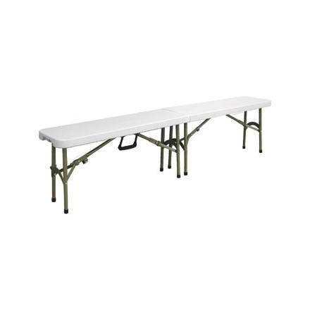 Bolera 6ft White Centre Folding Table