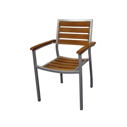Bolera Y820 Wood & Aluminium Chairs (Pack of 4)
