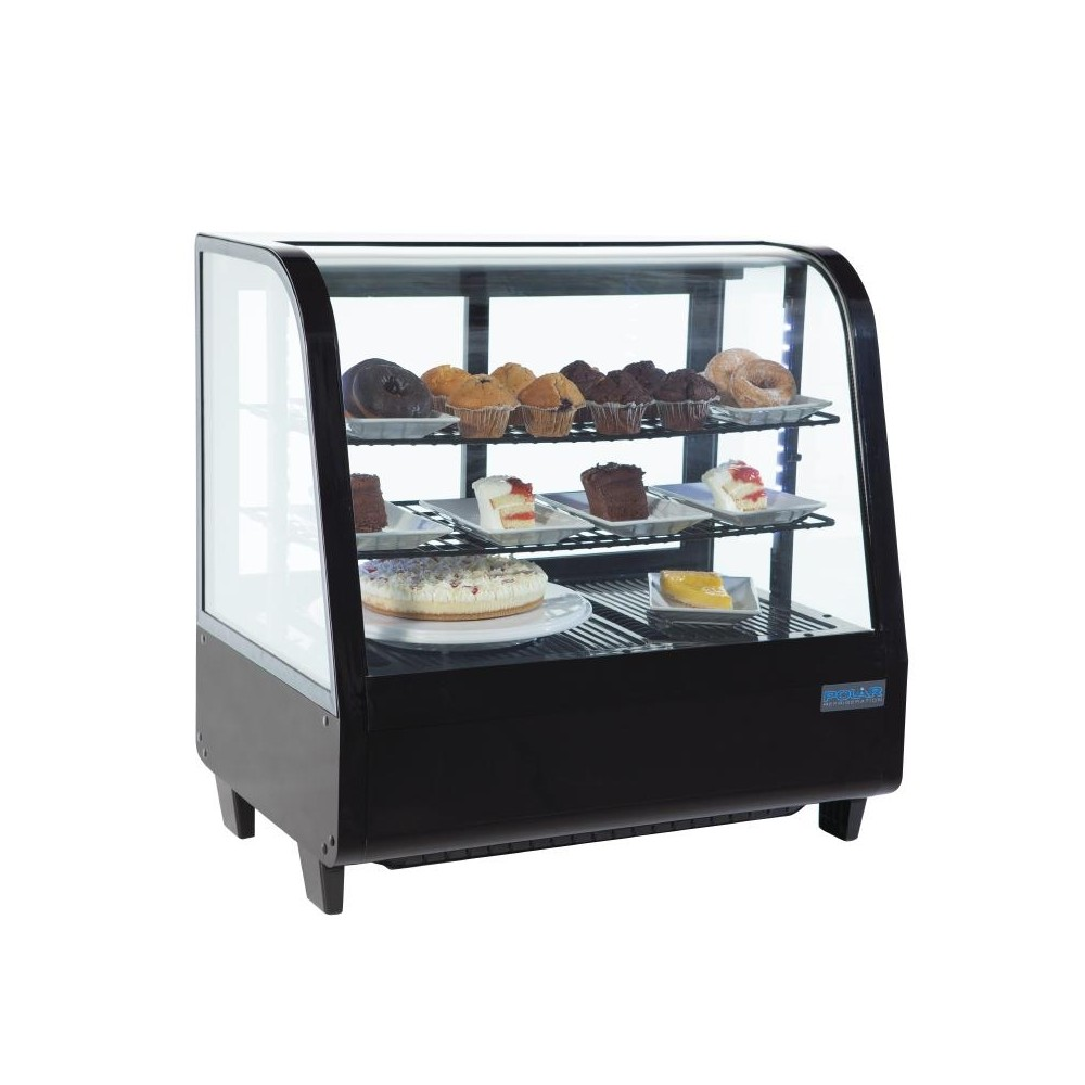Polar CC611 Countertop Refrigerated Merchandiser 100 Litre ...