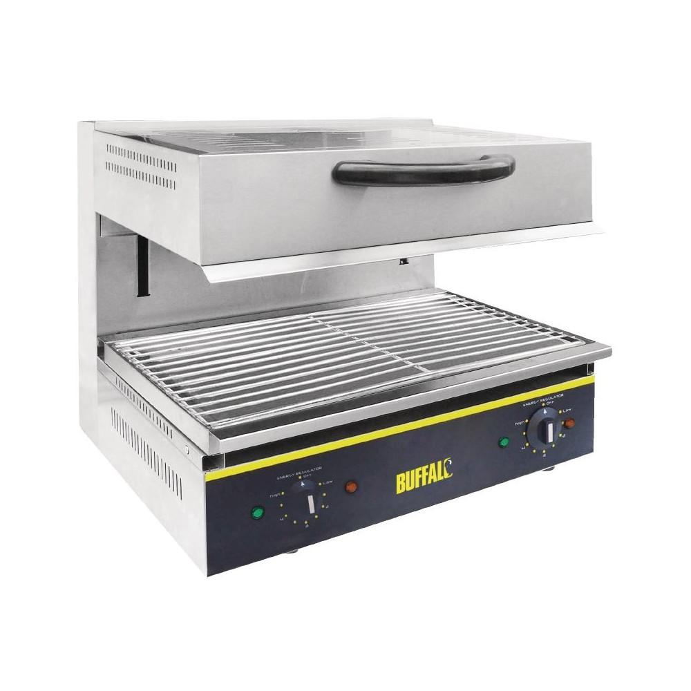Salamander Kitchen Appliance Buffalo Cd679 Electric Adjustable Salamander Grill