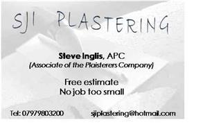 SJI Plastering