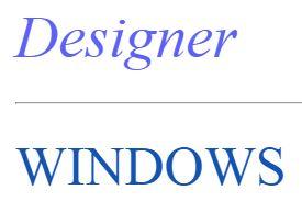 Designer Windows Ltd