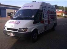 Heavy jetting Van (Commercial Work)