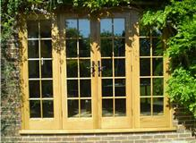 replacement oak french doors  frame