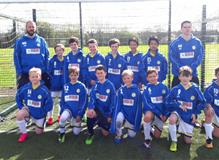 Our sponsored Farnborough football team
