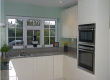 Handleless Fitted Kitchen and Granite Worktop
