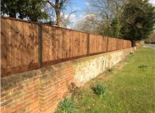 Privacy fencing at period property
