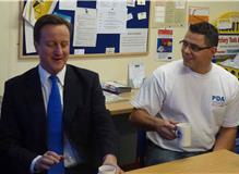 Meeting with David Cameron