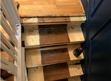 Stairway remodelling