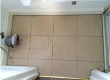 Tiling of en suite, including under floor heating.