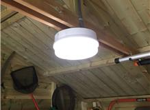 Led lighting and power,shed install,camberley,surrey