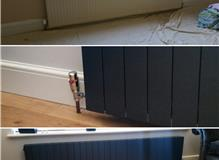 Designer Radiators fitted