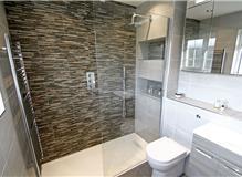 Ensuite Shower Room Design and Refurbishment in Surbiton
