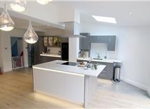 Rear extension and modern kitchen design & refurb in New Malden