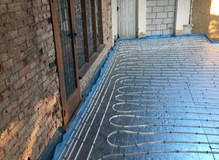New Installation of Underfloor Heating
